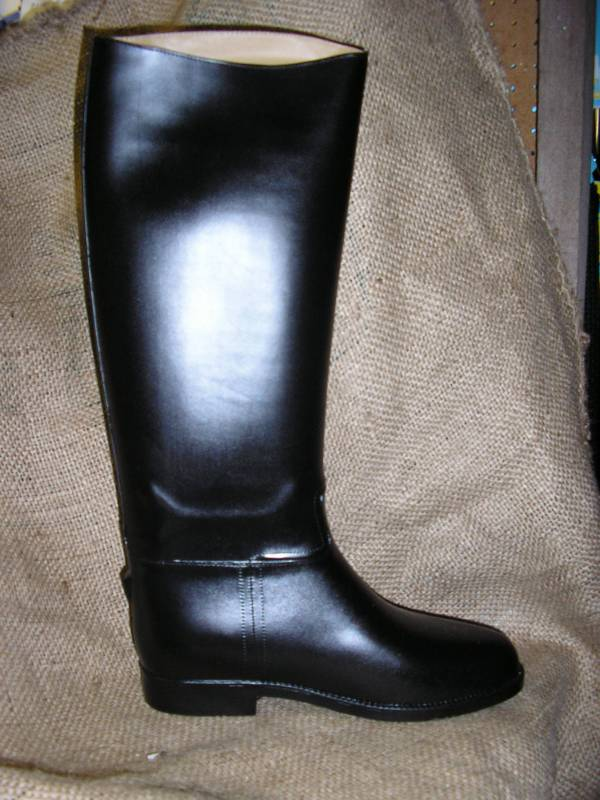 339f3b1ced ... ladies Toggi extra wide Equestrian long rubber riding boot. Click to  enlarge